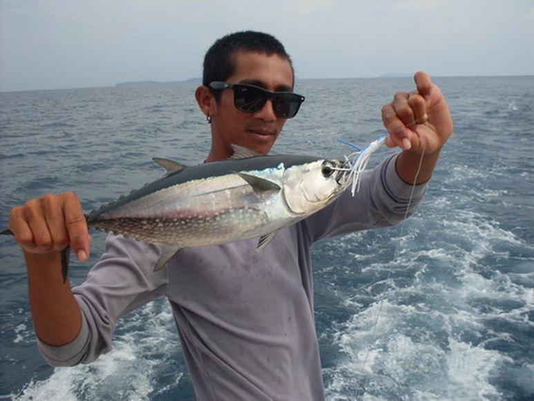 рыбалка в сезон дождей