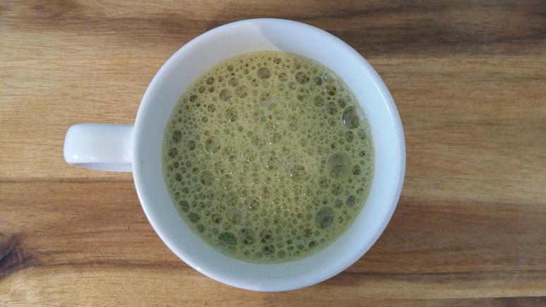 Чай матча — польза с запахом моря