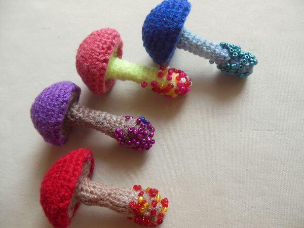грибы крючком