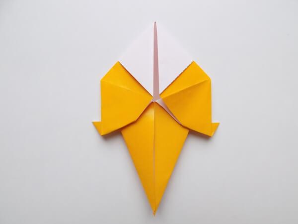 оригами птица для детей