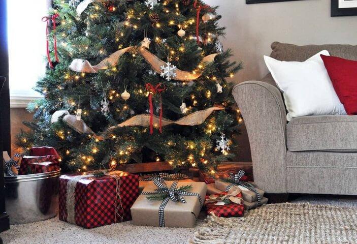 тренды новогоднего декора