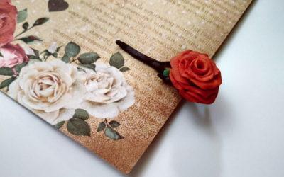 Полимерная глина: мастер класс «Роза»