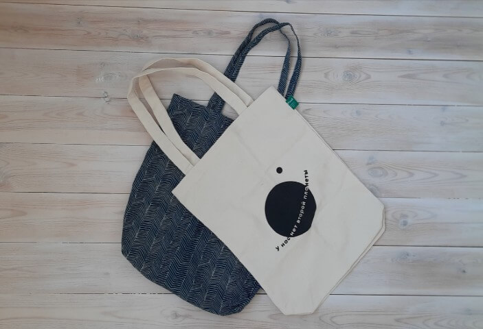 экопривычки и сумки шопперы