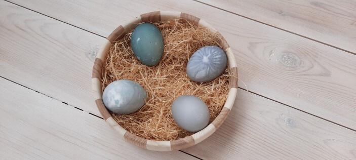 красим яйца оригинально
