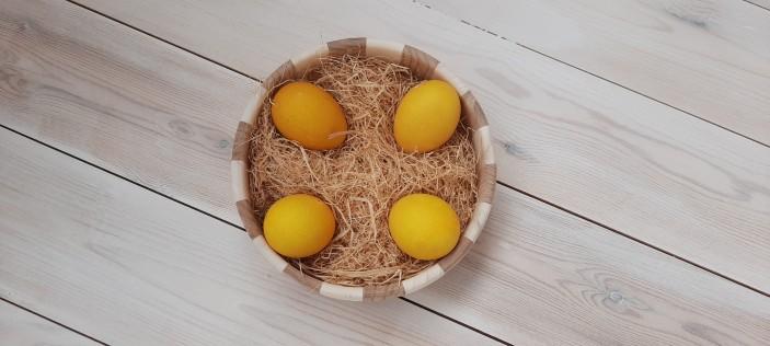 пасхальные яйца куркума