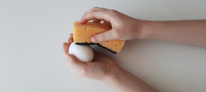 подготовка яиц перед окрашиванием