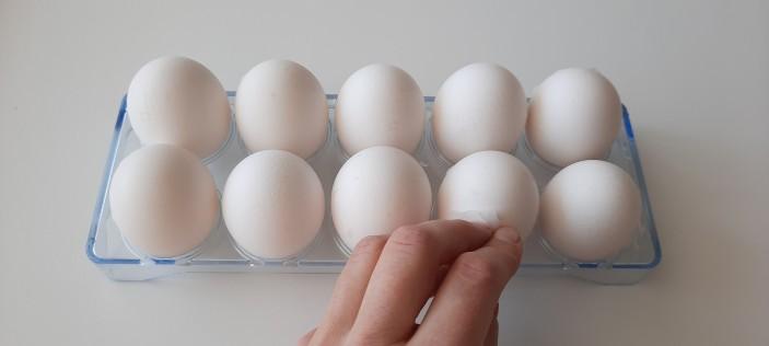 удаление с яиц маркировки