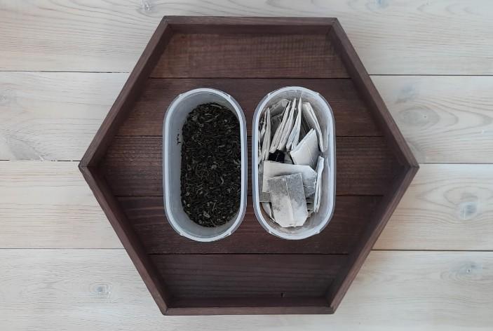 загрязнение пакетиками от чая