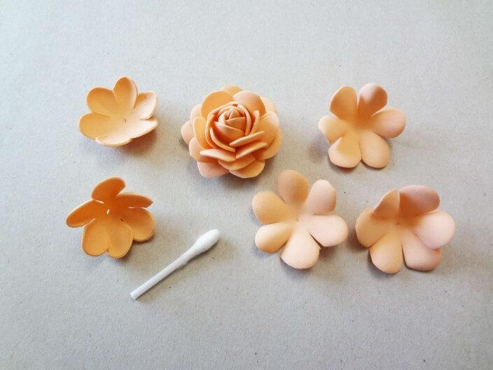 фоамиран цветы мастер класс