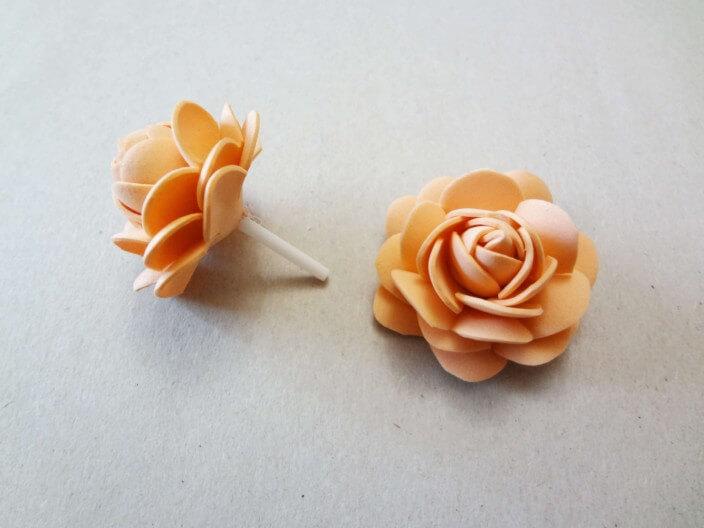 лепестки роз из фоамирана