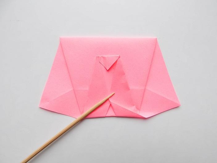 слоник из бумаги оригами мастер класс