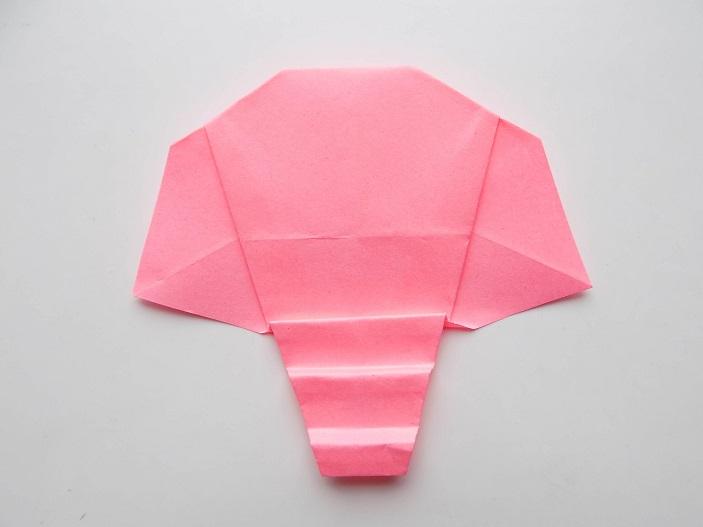 слоник из бумаги поделка в детсад